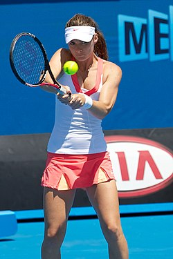 Iveta Benesova at the 2011 Australian Open1.jpg