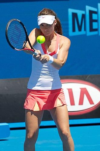 Iveta Benešová - Melzer at the 2011 Australian Open