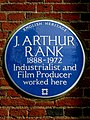 J. ARTHUR RANK 1888-1972 Industrialist and Film Producer worked here (27144880146).jpg