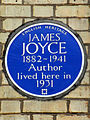 JAMES JOYCE 1882-1941 Author lived here in 1931.jpg