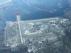 Map Of New York Showing Jfk Airport.John F Kennedy International Airport Wikipedia