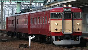 711 series - Repainted set S-114 in June 2012