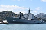 JS Mashū(AOE-425) left front view at JMSDF Maizuru Naval Base April 13, 2019 02.jpg