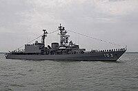 JS Yūgiri (DD-153), Solent.jpg