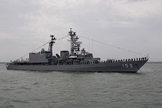 Asagiri-class destroyer - Image: JS Yūgiri (DD 153), Solent
