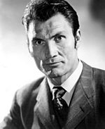 Photo of Jack Palance in 1954.