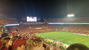Iowa State Cyclones - Iowa State football game in Jack Trice Stadium