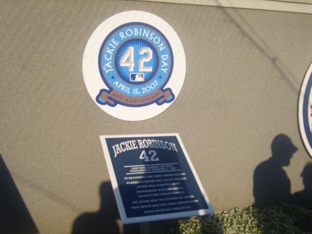 Jackie Robinson Monument park
