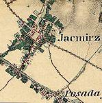 Jacmierz bei Sanok Franzisco-Josephinische Landesaufnahme (1806-1869).jpg
