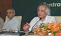 Jairam Ramesh addressing at the inauguration of a Conference of Chairman, State Pollution Control Boards to discuss pollution problems of states, in New Delhi on August 31, 2010.jpg