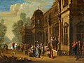 Jakob Ferdinand Saeys (Attr.) - Solomon and the Queen of Sheba.jpg
