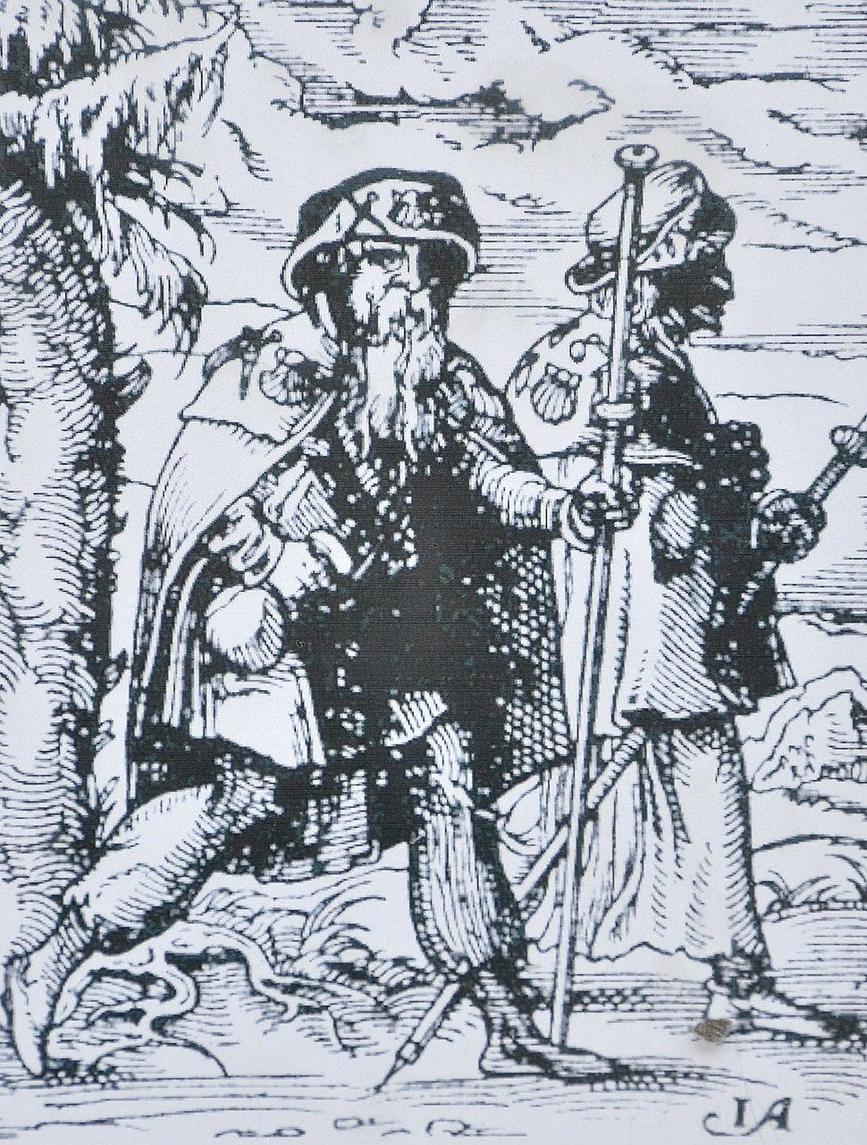 Jakobsweg - Pilger 1568 - Hurden IMG 5664