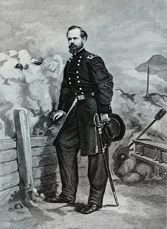 James B. McPherson - Lithograph of McPherson