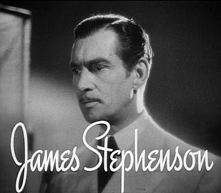 James Stephenson British-American actor