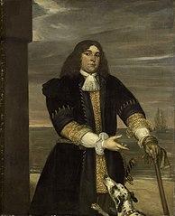 Portrait of Jan van Gelder (1647-73), naval captain and stepson of Michiel Ariaensz de Ruyter