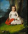 Jan Antoni Simon Mädchen mit rotem Schal 1842.jpg