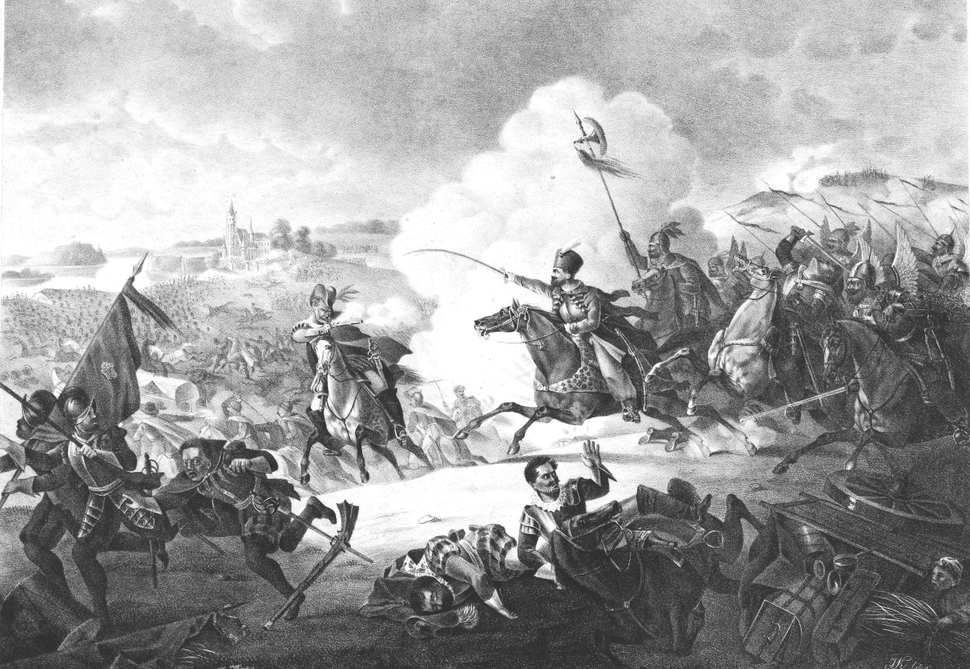 Jan Karol Chodkiewicz in battle of Kircholm 1605