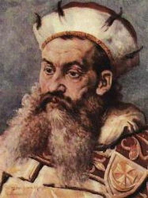 Henry the Bearded - 19th century portrait by Jan Matejko