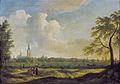 Jan ten Compe - Gezicht op Den Haag vanuit het noord-noordwesten.jpg