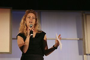Jane McGonigal at eTech in 2009.