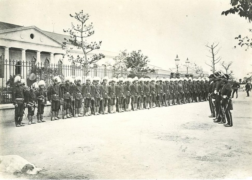 Japanese first Royal Guards