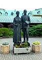 Jasna Góra, pomnik Emilii i Karola Wojtyłów rodziców św. Jana Pawła II autorstwa Józefa Marka.jpg