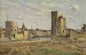 Jean-Baptiste-Camille Corot - La Rochelle, The Harbour Entrance.jpg