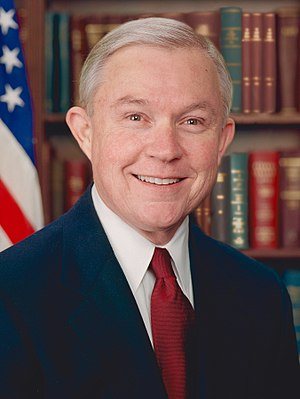 Republican Party vice presidential candidate selection, 2016 - Image: Jeff Sessions official portrait