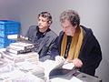 Jeff Wall and Jean Francois Chevrier 28 nov 07.JPG