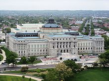 Jefferson Building from Capitol dome.JPG