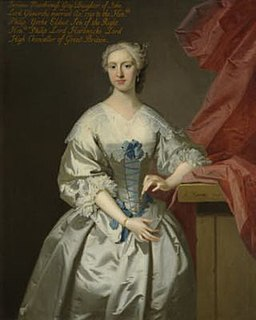 Jemima Yorke, 2nd Marchioness Grey British peeress and letter writer