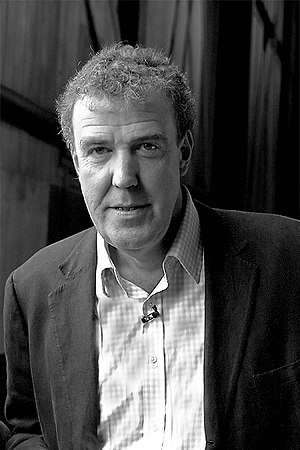Picture of w:Jeremy Clarkson, on the set of w:...