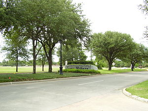 Jersey Village, Texas - Entrance to Jersey Village