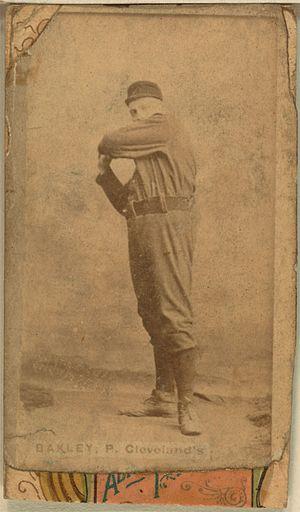 Jersey Bakley - Image: Jersey Bakely baseball card