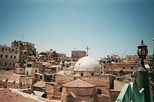 Church of Saint John the Baptist, Jerusalem - View of the church from Muristan