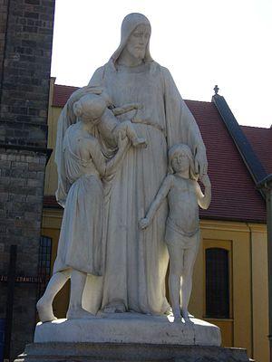 Peter Breuer - Image: Jezus friend of children Peter Breuer 1902
