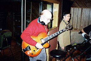 """Jimmy D'Aquisto - D'Aquisto guitar played by Jim Hall (""""Something Special"""" recording in 1993)"""
