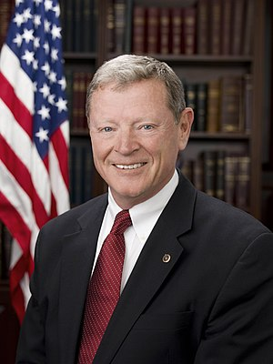 Oklahoma Republican Party - Image: Jim Inhofe, 2007 official photo