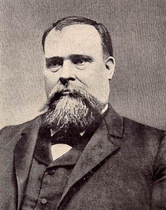 """Ima Hogg - Ima Hogg's father, James Stephen """"Jim"""" Hogg (1851–1906), Governor of Texas"""