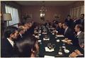 Jimmy Carter and Hafiz al-Asad during a meeting between U.S. and Syrian officials - NARA - 174645.tif