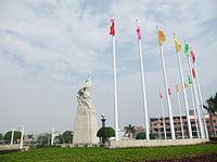 Jinjiang - Lvzhou Park monument - DSCF8730.JPG