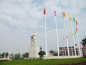 Jinjiang, Fujian - Image: Jinjiang Lvzhou Park monument DSCF8730