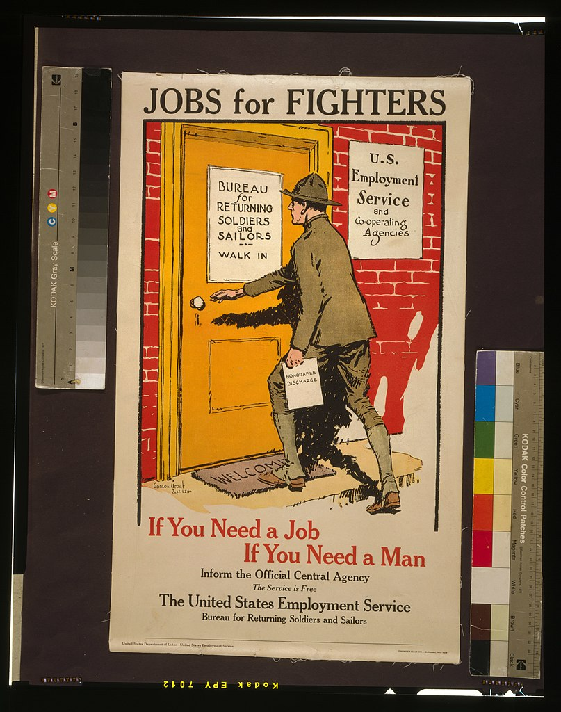 File:Jobs for fighters - If you need a job, if you need a man