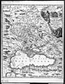 Johann Baptist Homann. Tabula geographica qua pars Russiae magnae, Pontus Euxinus seu Mare Nigrum et Tartaria Minor. 1724.jpg