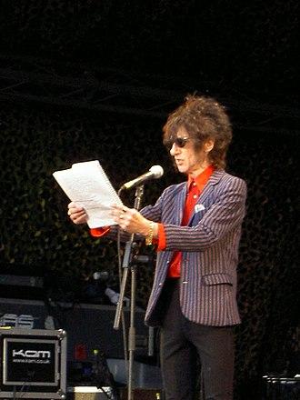 John Cooper Clarke - At Bedford's Rhythm Festival, 2006