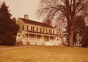 John Jay Homestead State Historic Site - Image: John Jay Homestead HABS cropped