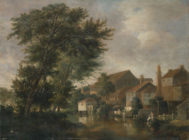 Fichier:John Crome - The River Wensum, Norwich - Google Art Project.jpg