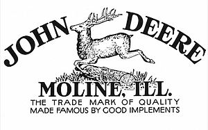 John Deere - Company logo used between 1912 and 1936