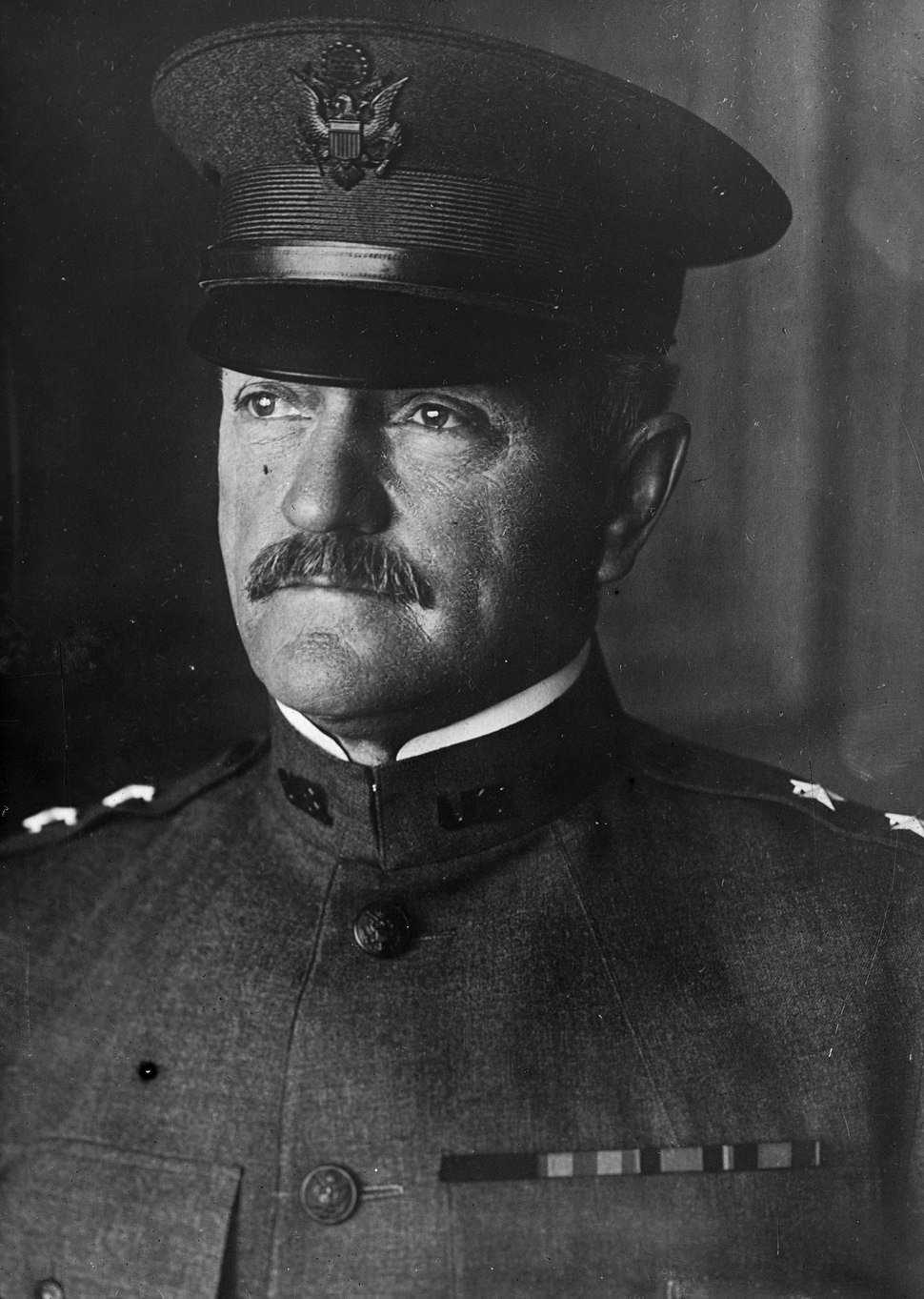John Pershing, Bain bw photo as major general, 1917