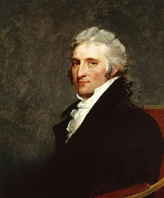 St. John's Episcopal Church, Lafayette Square - John Peter Van Ness 1805 portrait by Gilbert Stuart